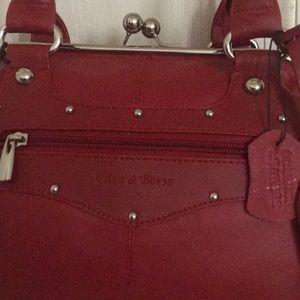 a6c1264d31a42 Casa di Borse Bags - Casa do Borse genuine Leather satchel